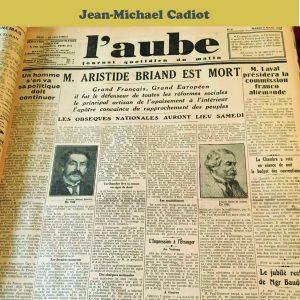 L'Aube 1932-1936 (PAPERBACK)-0